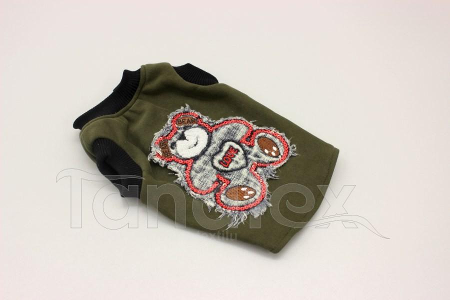 Obleček pro psa - vesta s medvídkem - velikost  0
