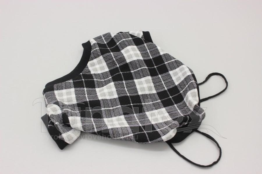 Obleček pro psa - svetřík Káro velikost 1