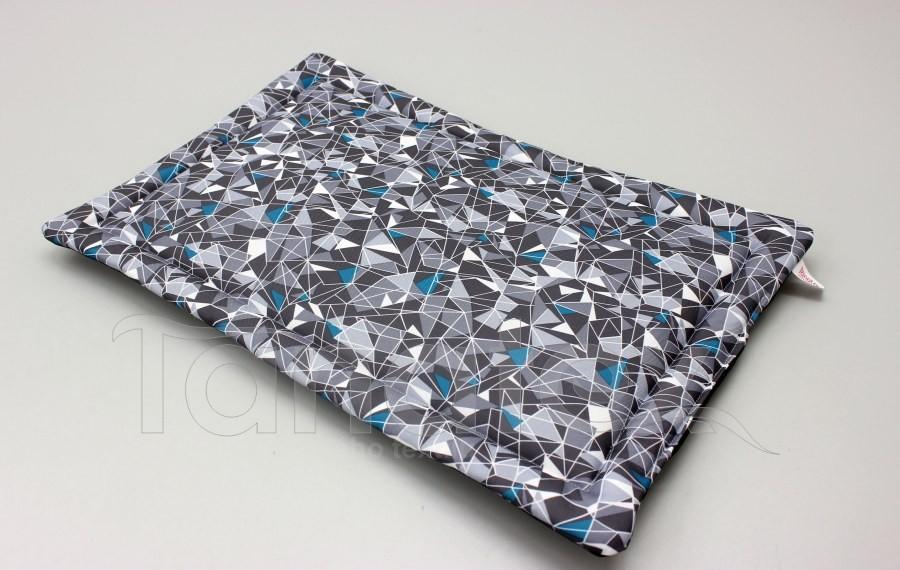 Podložka klasik - cca 58x38 - Dimenze v šedé