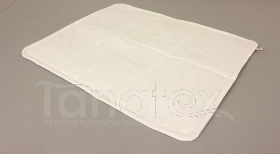 Pratelná podložka bílá