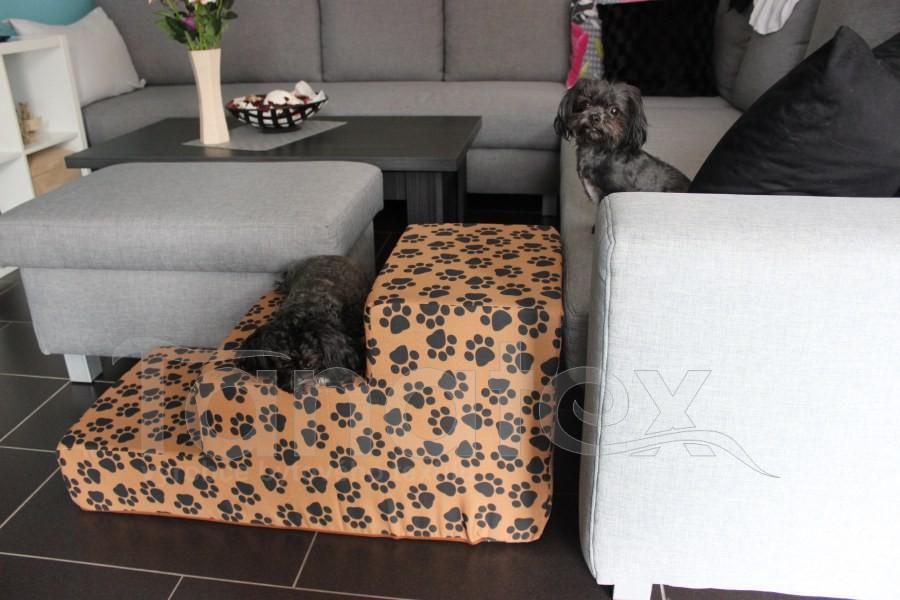 Schody MAXI pro psa - dle aktuální nabídky látek