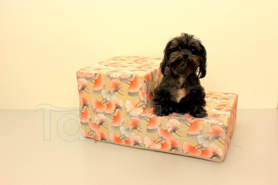 Schody pro psa Ginko oranžové